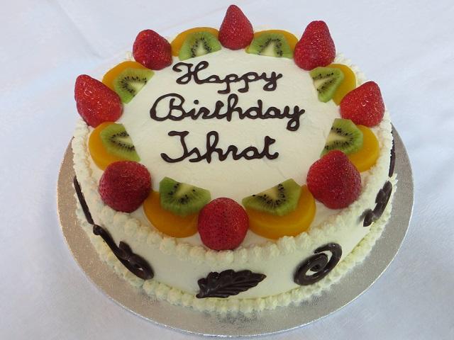 Ishrat s Birthday